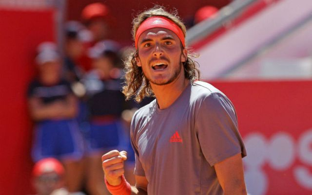 Stefanos Tsitsipas became the champion of the tournament in Estoril
