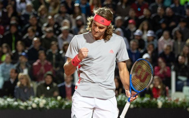 Stefanos Tsitsipas will fight with Roger Federer for reaching the Masters semifinal in Rome