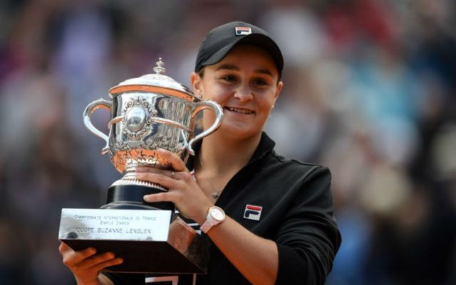 Ashleigh Barty: I can play at the level of the best tennis players in the world