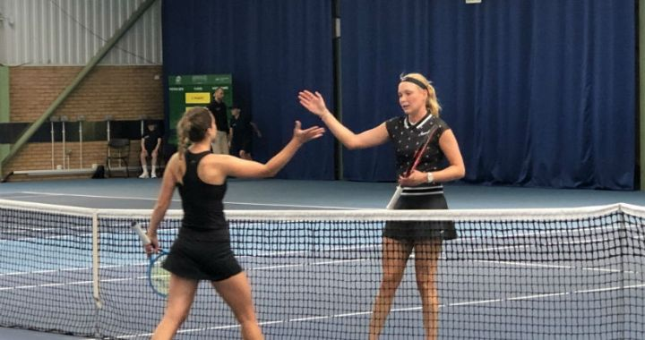 Donna Vekic successfully launched in Nottingham