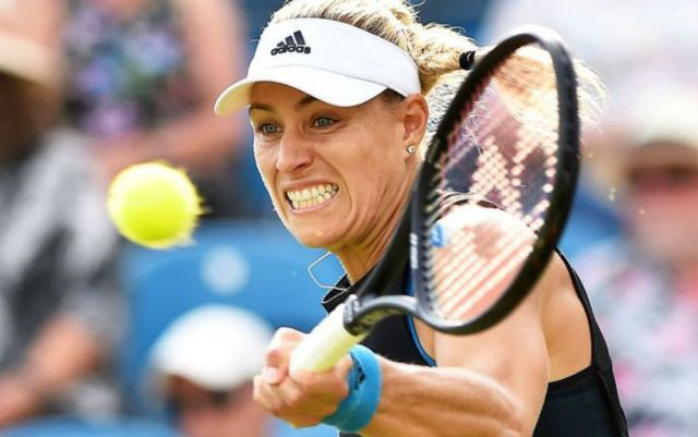 Eastbourne Angelique Kerber continues to fight in competitions