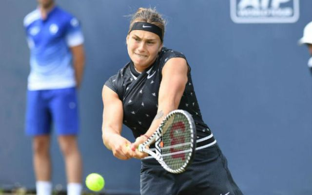 Eastbourne. Aryna Sabalenka will play in the third round of the tournament