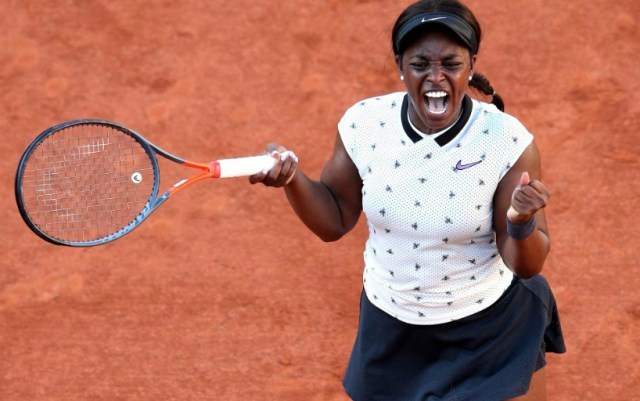 French Open. Sloane Stephens turned out to be stronger than Garbine Muguruza