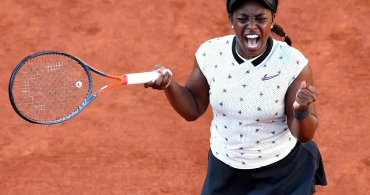 French Open. Sloane Stephens turned out to be stronger than Garbine Muguruza