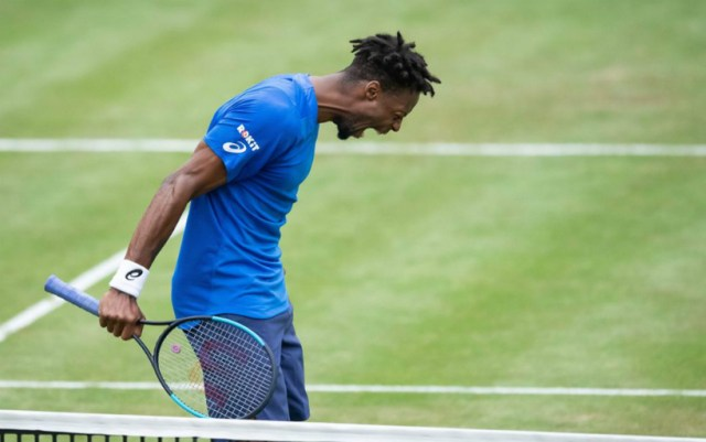 Gael Monfils leaves competition in Galle