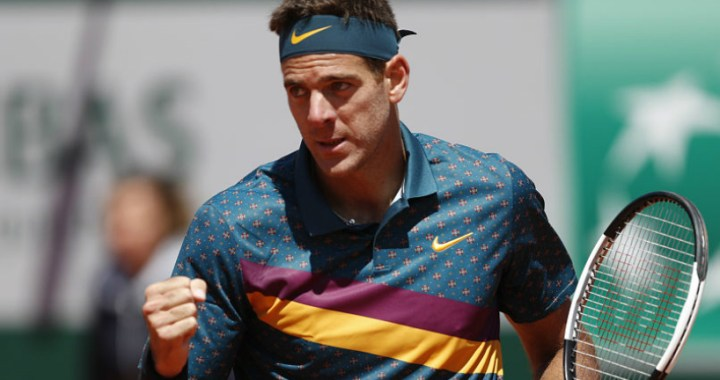 Juan Martin Del Potro: I didn't even have time to resist Khachanov