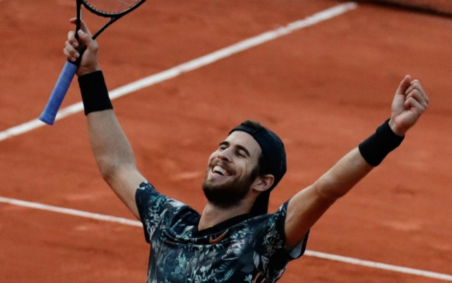 Karen Khachanov: Thank you, Paris, and see you next year
