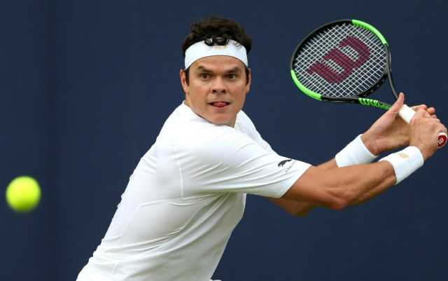 London. Milos Raonic continues to fight for the main trophy