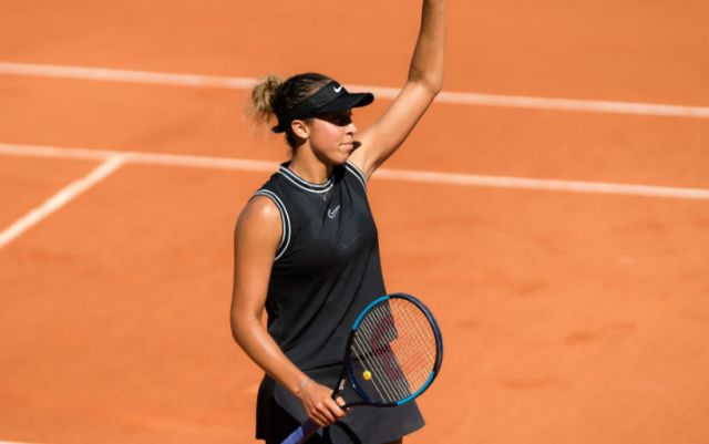 Madison Keys made it to the quarterfinals of Roland Garros
