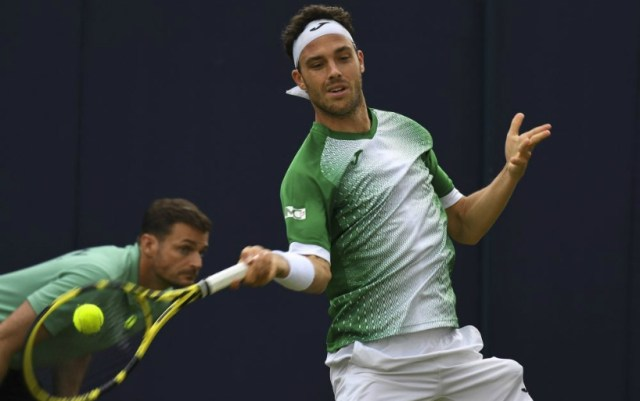 Marco Cecchinato leaves the competition in Eastbourne