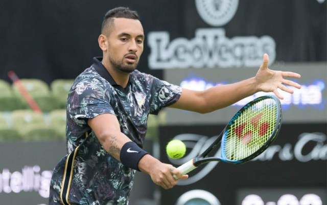 Nick Kyrgios successfully launched in London