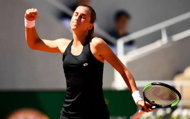 "Petra Martic went to the quarter-finals ""Roland Garros"""