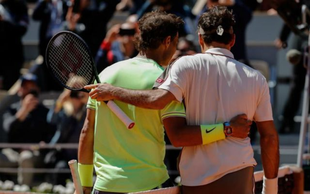 Rafael Nadal: It was nice to play with Federer