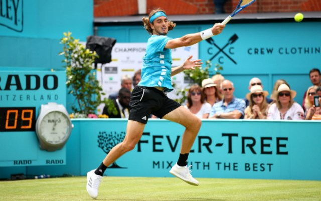Stefanos Tsitsipas leaves competition in London