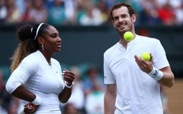 Andy Murray: It was nice to play with Serena, I liked it