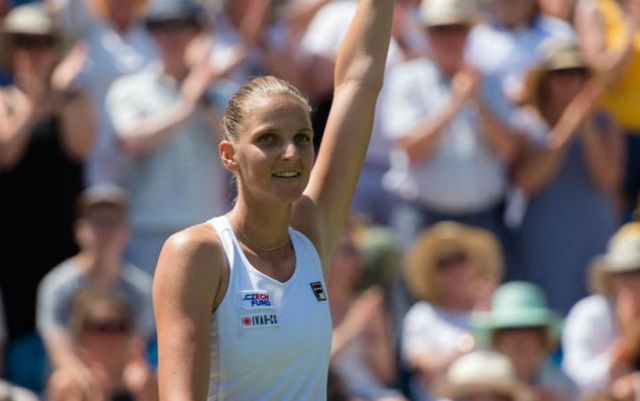 Karolina Pliskova has been working with a psychologist for several years.