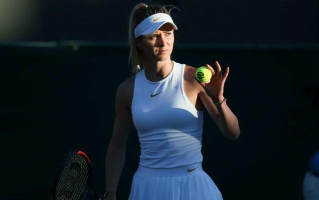 Elina Svitolina reached the 1/8 finals of Wimbledon