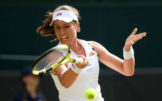 Johanna Konta: No need to talk to me in an instructive tone!