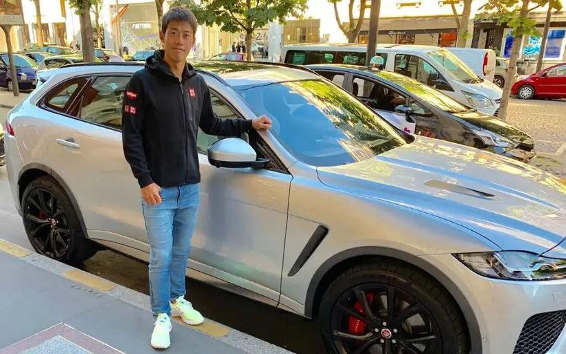 Kei Nishikori starred in a Jaguar commercial_5d31998c8a165.jpeg