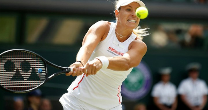 Wimbledon. Angelique Kerber was defeated by the 95th racket of the world