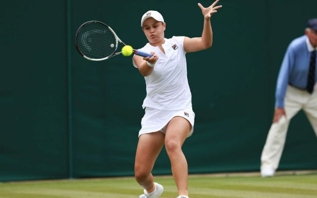 Wimbledon. Ashleigh Barty lost in the fourth round