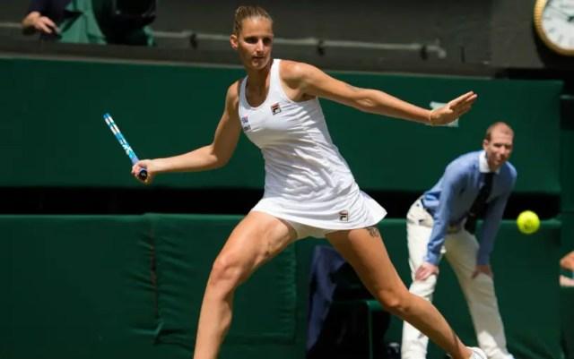 Wimbledon. Karolina Pliskova was defeated in the match of the fourth round