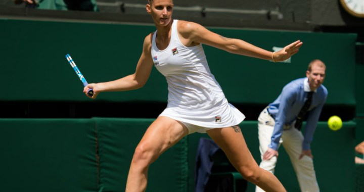 Wimbledon. Karolina Pliskova was defeated in the match of the fourth round
