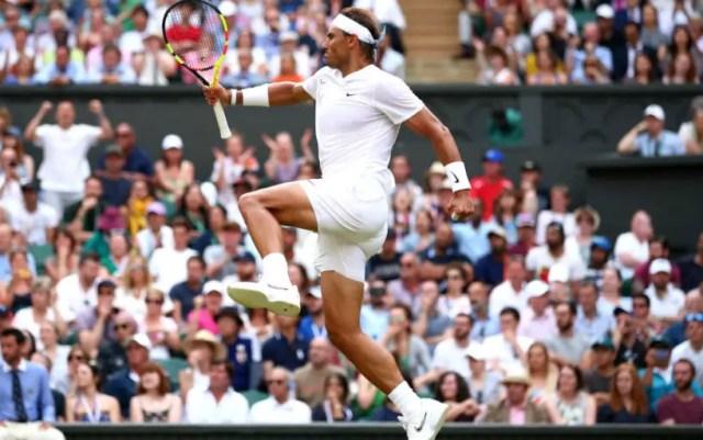 Wimbledon. Rafael Nadal defeated Nick Kyrgios