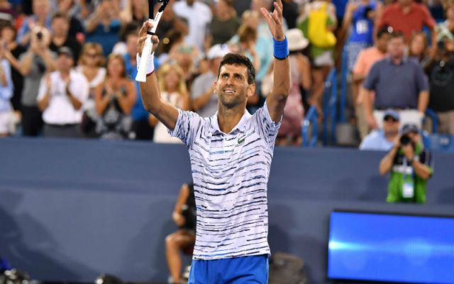 "Novak Djokovic became semi-finalist of ""Masters"" in Cincinnati"