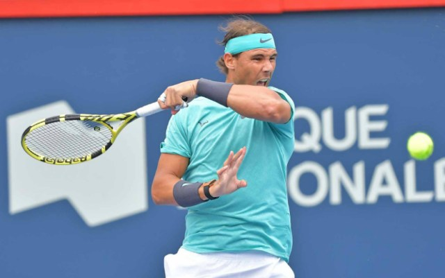 Rafael Nadal successfully launched at the Masters in Montreal
