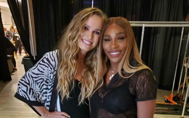 Serena Williams attends New York Fashion Week