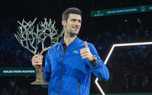 "Novak Djokovic won ""Masters"" in Paris."