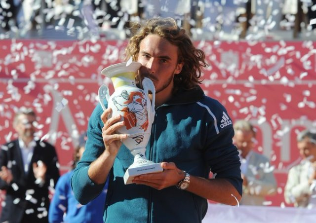 Stefanos Tsitsipas win Estoril Open Cup