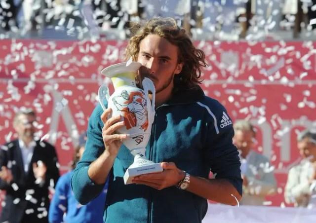 Stefanos Tsitsipas win Estoril Open Cup