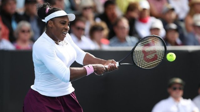 Serena Williams: I thought it was solid, technically my second match of the year