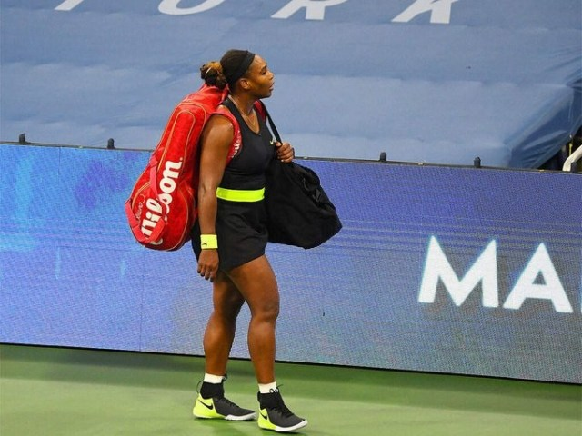 "Serena Williams complains: ""There is no excuse for this"""