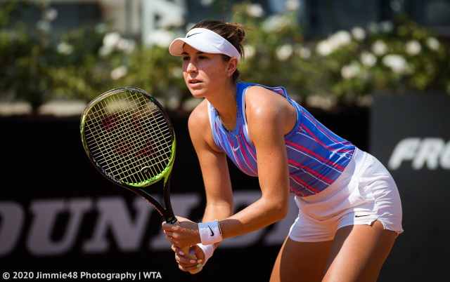 Belinda Bencic: My goals for this year are to stay healthy and be able to play tennis.