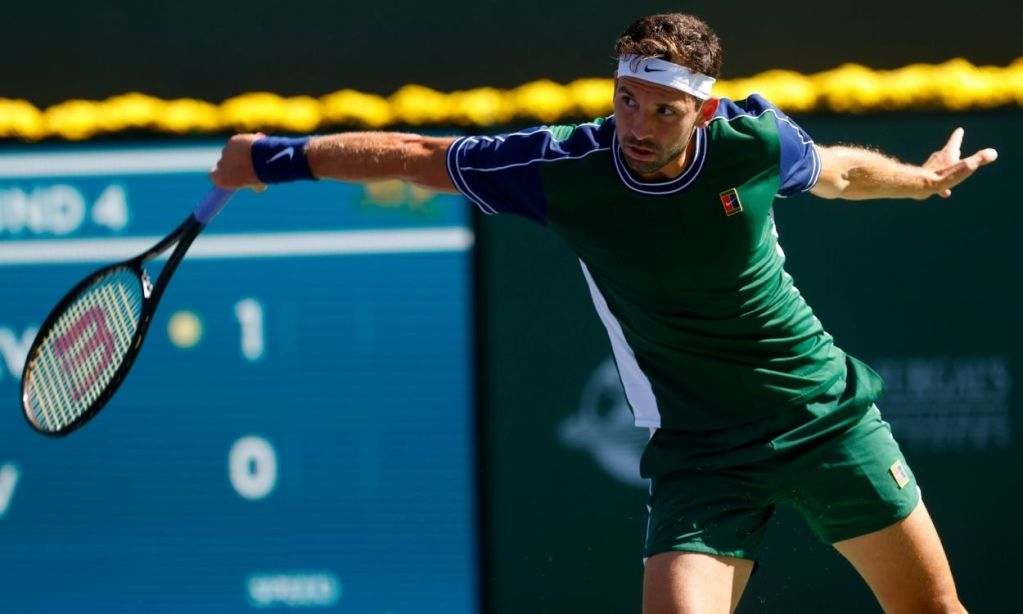 Grigor Dimitrov takes down No. 1 seed Daniil Medvedev at Indian Wells to score his second Top 10 win of the year