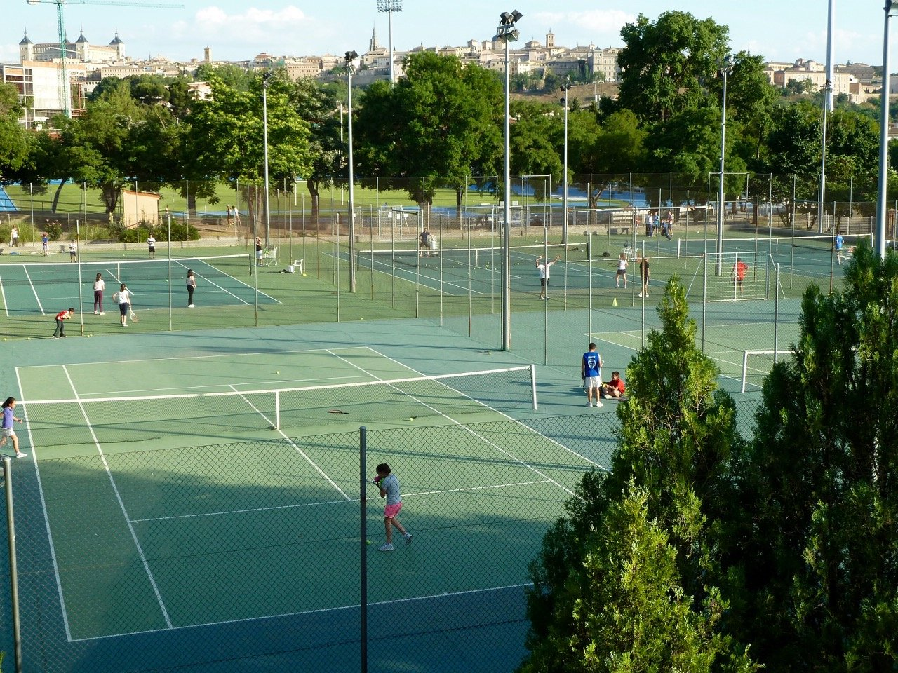 Toledo Spain, Patronado Deportivo Municipal de Toledo - Tennis Tourist