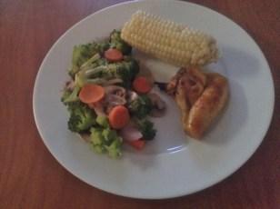 Chicken was amazing!!