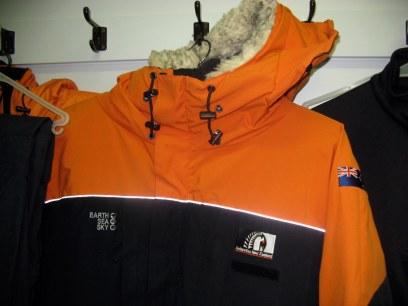 Extreme Cold Weather jacket (Jan 2013)
