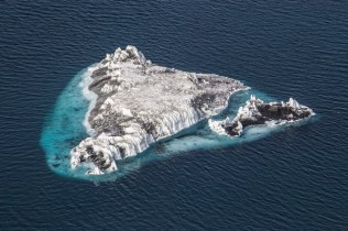 A small iceberg in McMurdo Sound.