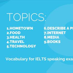 eBook: 9 IELTS Topics for Speaking Exam