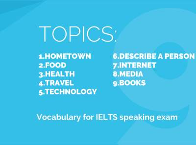 IELTS eBook: 9 Topics to Prepare for Speaking Exam