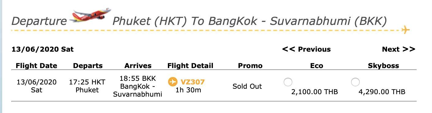 Phuket Airport is open for business. Flights available today. | News by The Thaiger