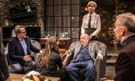"""Death on the Rialto: Wallace Shawn's """"Evening at the Talk House"""""""