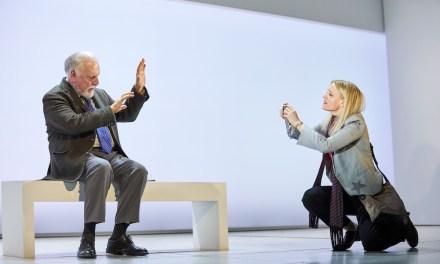 """Heisenberg: The Uncertainty Principle"" at Wyndham's Theatre"