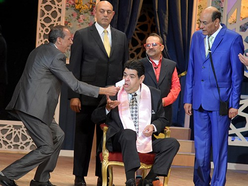 """In Photos: """"Forsa Saeeda"""" Play Opens At Cairo's El-Salam Theatre"""