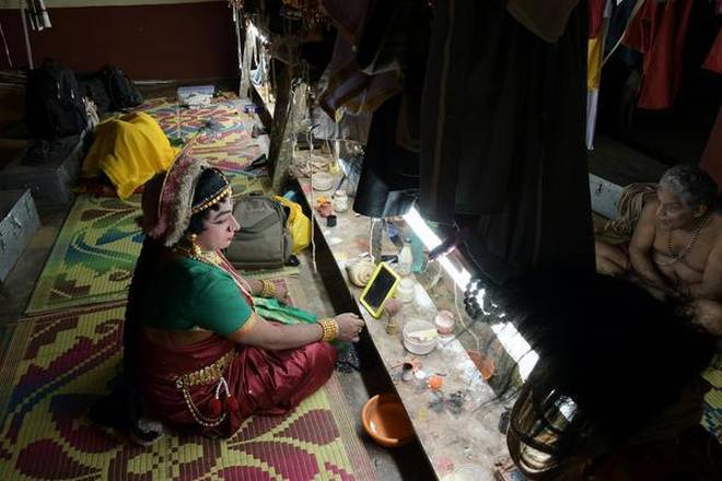 The Theatre Form, Yakshagana, Involves All-Night Plays As Offerings To A Deity
