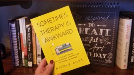 sometimes therapy is awkward cover